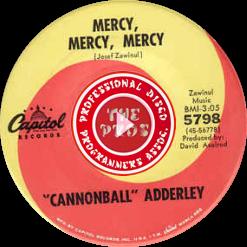 Mercy, Mercy, Mercy 45Pic