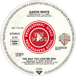 The Way You Love Me 45Pic